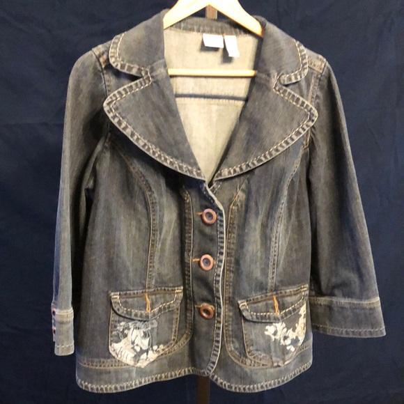 340d04259ceef Lane Bryant Jackets   Blazers - Lane Bryant Plus Size Jean Jacket